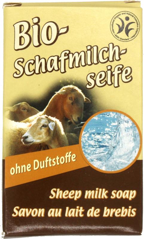 Saling Bio-Schafmilchseife (100 g)