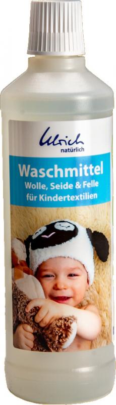 Ulrich natürlich Waschmittel für Wolle, Seide & Felle - Kindertextilien